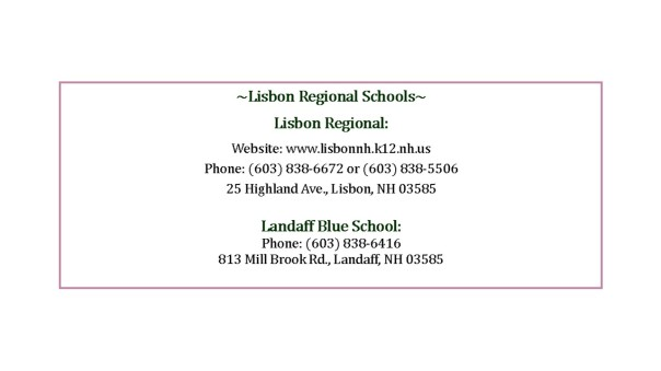 lisbon school information for website 2015